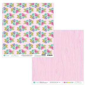 Papier do scrapbookingu 2-str Floral Market 04 x5