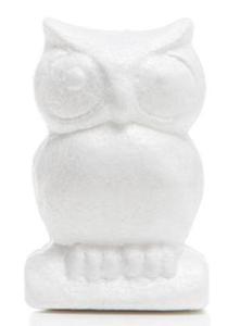 Styropianowe sowy (058) 13cm x3 - 2858080296