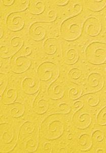 Karton A4 220g Heyda tłoczony Milano żółty x1 - 2824970767