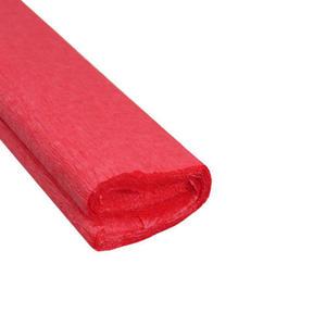 Krepa kolorowa, bibuła marszczona 07 czerwona x1