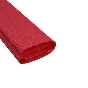 Krepa kolorowa, bibuła marszczona 08 c.czerwona x1