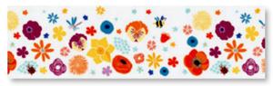 Naklejka na okno Heyda 76mm x 2mb - blossoms x1 - 2824971177