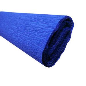 Krepa kolorowa, bibuła marszczona 17 niebieska x1