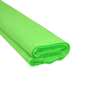 Krepa kolorowa, bibuła marszczona 22 j.zielona x1