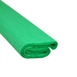 Krepa kolorowa, bibu�a marszczona 23 zielona x1