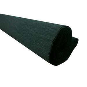 Krepa kolorowa, bibuła marszczona 30 czarna x1
