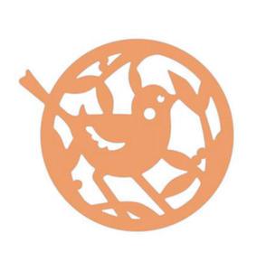 Dziurkacz ozdobny ażurowy 515 - 007 ptaszek x1 - 2833963328
