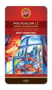 Kredki Koh-I-Noor Polycolor 12 kol x1