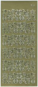 Sticker złoty 04090 - motywy wiosenne x1 - 2824959799