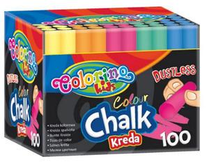 Kreda Patio Colorino Kids kolorowa bezpył. x100 - 2835254932