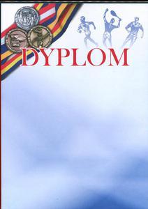 Dyplom A4 250g Olimpiada x20