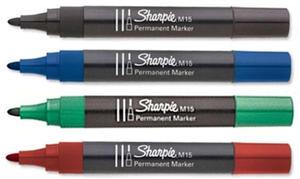 Marker Papermate Sharpie M15 okrągły - czarny - 2835855813