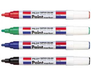 Marker olejowy Pilot - czerwony M x1 - 2835855844