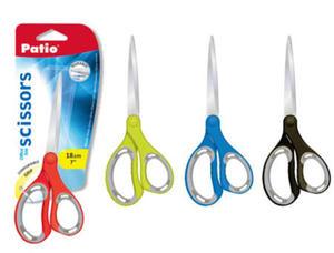 Nożyczki Patio - 18 cm z gumową rączką kolor x1 - 2835855896