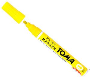 Marker olejowy Toma 2,5mm żółty x1