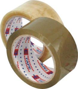 Taśma pakowa 48x66 cicha transparentna x1 - 2837080946