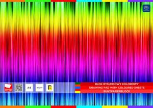 Blok rysunkowy A3 Inter 80g 20k. kolor - 2837273423