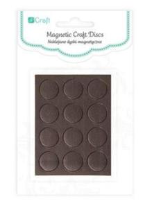 Naklejane dyski magnetyczne 1,27cm 12szt. - 2858268008