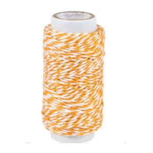Sznurek bawełniany piekarski 20mb - pomarańczowy - 2881103661