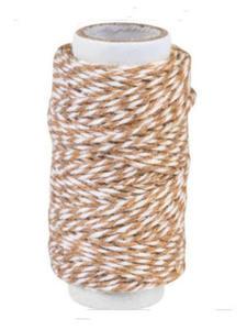 Sznurek bawełniany piekarski 20mb - brązowy x1 - 2881103663