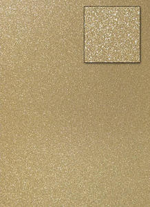 Karton A4 200g brokatowy - jasno złoty x1 - 2837847405