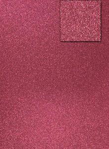 Karton A4 200g brokatowy - bordowy x1 - 2837847406
