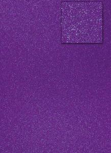 Karton A4 200g brokatowy - fioletowy x1 - 2837847407