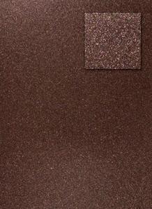 Karton A4 200g brokatowy - brązowy x1 - 2837847408