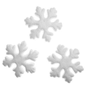 Styropianowe śnieżynki 75mm 24 x24 - 2858080325