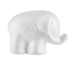 Styropianowe słonie 13cm x3 - 2838759286