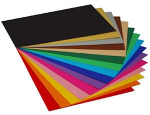 Brystol kolorowy A4 170g czarny 20ark. - 2863791240