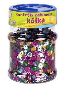 Konfetti cekinowe Astra 100g - mix kolorów ciemne - 2842034392
