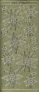 Sticker złoty 00102 - gwiazdy x1 - 2845057031