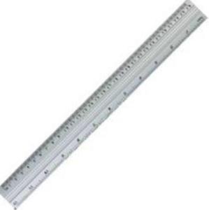 Linijka aluminiowa 30 cm GR111-30 x1 - 2859674185