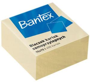 Kostka biurowa samoprzylepna Bantex 400k  - 2846303525