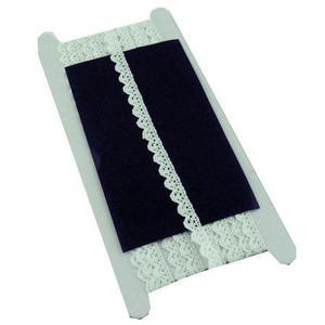 Koronka 10mm bawełniana HY-1531 biała 5Yx1 - 2882309797