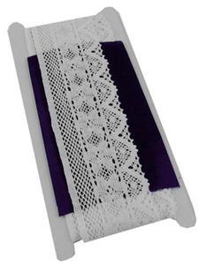 Koronka 55mm bawełniana HY-1550 biała 3Yx1 - 2846303539