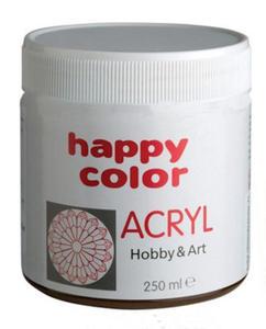 Farba akrylowa Happy Color 250g - brązowa x1 - 2846498520
