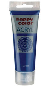 Farba akrylowa Happy Color 75g - granatowa x1 - 2846498558