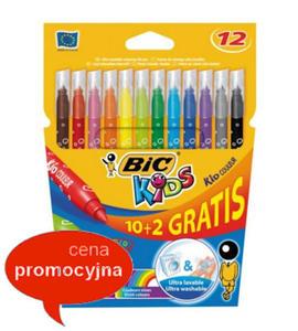 Pisaki BIC Kid Couleur 12 kol x1 - 2846824742