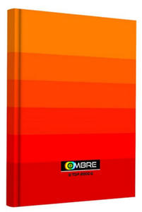 Brulion A5 96k TOP Ombre pomarańczowy x1 - 2847045687