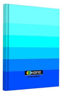 Brulion A5 96k TOP Ombre niebieski x1 - 2847045688