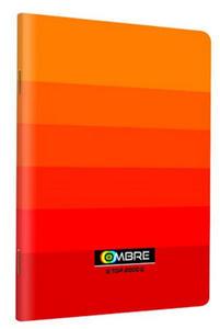 Zeszyt A5 60k TOP Ombre kratka pomarańczowy x1 - 2847045695