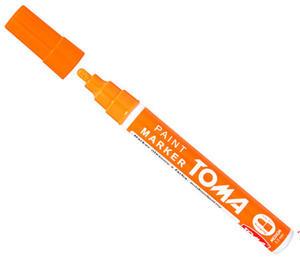 Marker olejowy Toma 2,5mm pomarańczowy x1