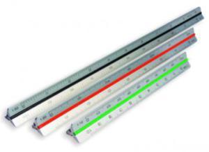 Linijka - skalówka aluminiowa nr.14 15cm x1 - 2847287945