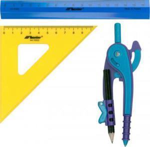 Przybory geometryczne mały komplet x1 - 2847288264