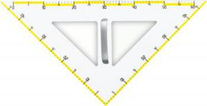 Ekierka tablicowa magnetyczna 45° x1 - 2847288302