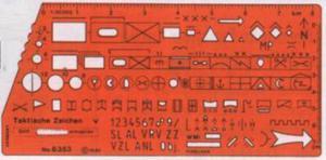 Szablon wojskowy NATO 1 x1 - 2847288993