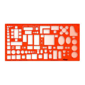 Szablon architektoniczny meble 43 skala 1:50 x1 - 2847289012