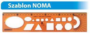 Szablon NOMA duży - symbole różne x1 - 2847289025